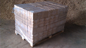 1/2 Pallet, 48 Packs Birch Briquette