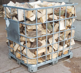 1 Cubic Meter Loose Tipped Seasoned Hardwood