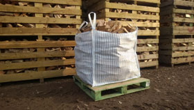 1 x Bulk Bag Seasoned Hardwood