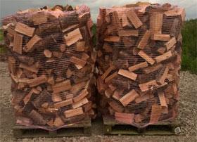 3.4 Cubic Meters Loose Tipped Semi-Seasoned Larch