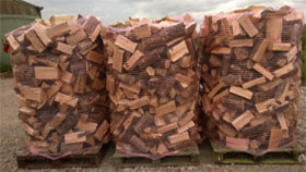 5.1 Cubic Meters Loose Tipped Semi-Seasoned Hardwood