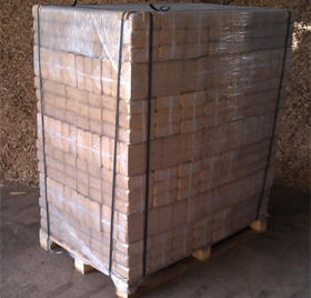 Full Pallet, 96 Packs Birch Briquette