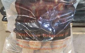 Single 20kg Bag Round Briquette